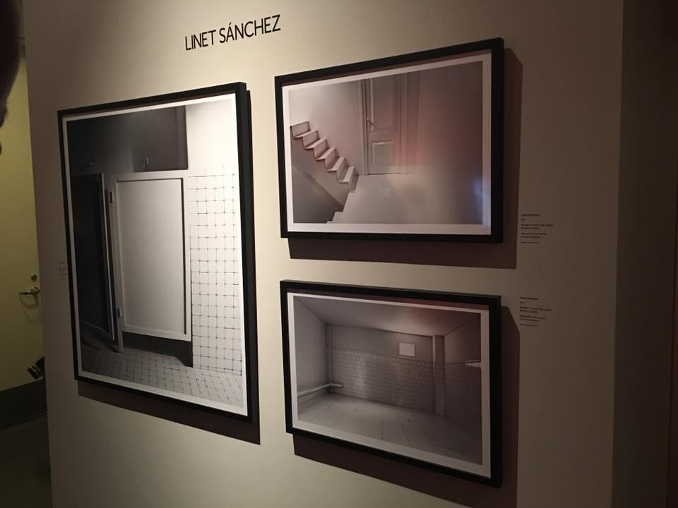 Piezas de la artista Linnet Sánchez, en The Annenberg Space for Photography.